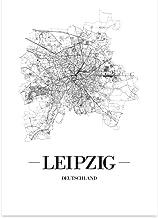 JUNIWORDS Stadtposter - Wähle Deine Stadt - Leipzig - 21 x