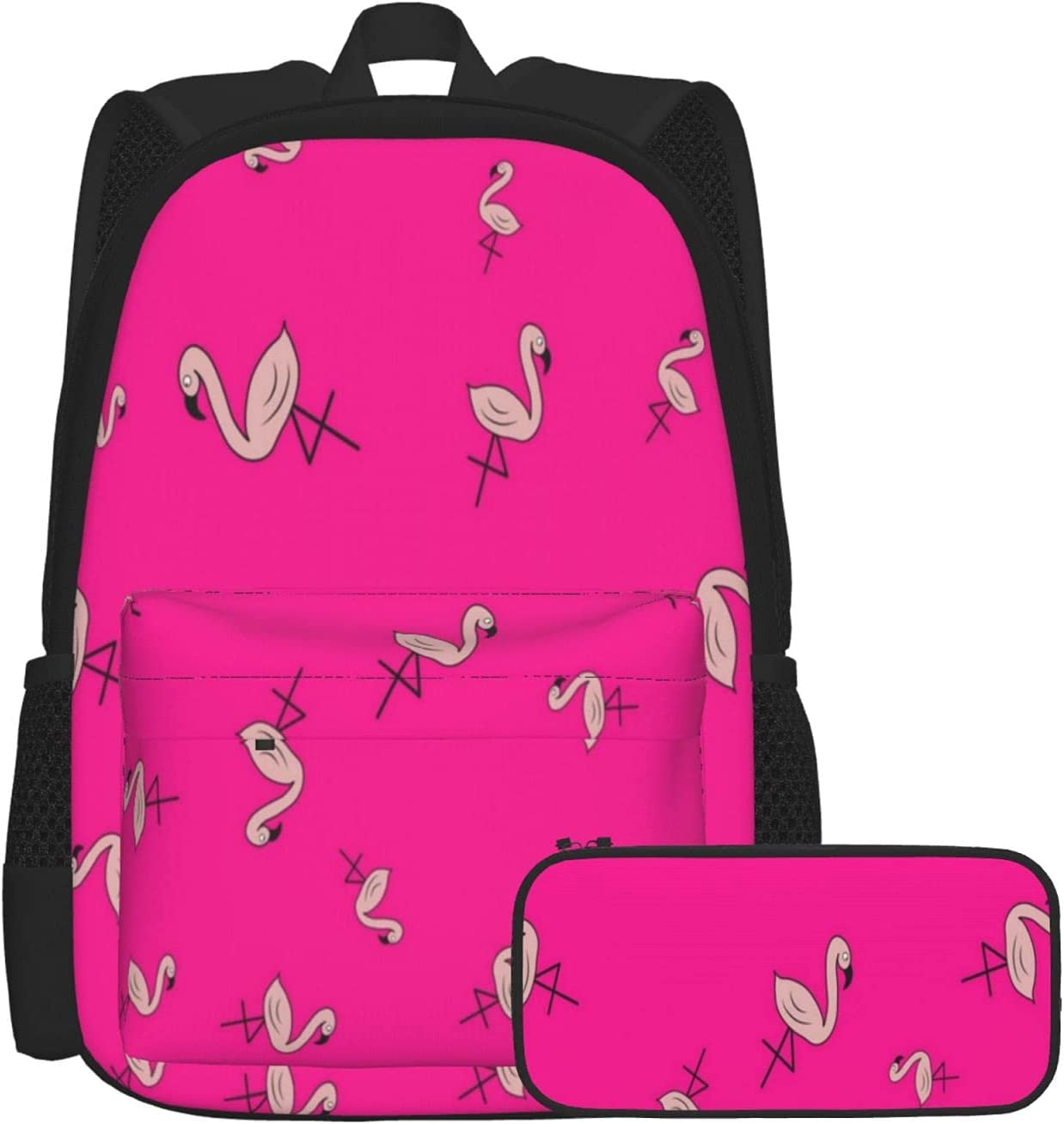 Gesdfwe Kids Backpack Flamingos School Cartoon In Cash special price Beauty products Style