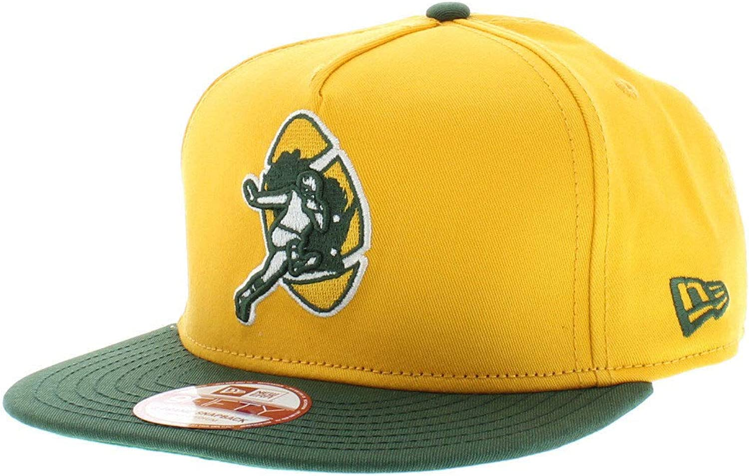 Era Green Bay Packers Heritage Series Retro Wool Fitted Hat (Size 7 1 8)