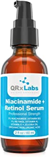 5% Niacinamide (Vitamin B3) + Retinol Serum - Ultimate Anti-Aging Wrinkle Reducing Treatment - Fights Acne Breakouts and F...
