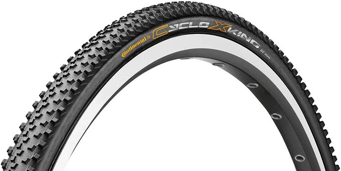 Continental Unisex Erwachsene Faltreifen Cyclox King Rs Black Black Skin One Size Sport Freizeit