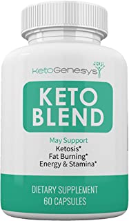 Keto Genesys - Keto Blend- May Support - Ketosis - Fat Burning - Energy and Stamina - 60 Capsules - 1 Month Supply