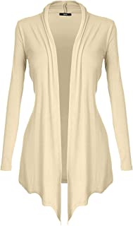DRSKIN Women's Open - Front Long Sleeve Knit Cardigan