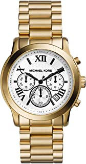 Michael Kors Cooper Women's White Dial Stainless Steel Band Watch - MK5916