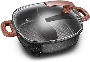 Diaod Feu électrique Hot Pot Maison Multi-Fonction électrique Hot Pot Dortoir électrique de Cuisson électrique Pan Wok Coo...