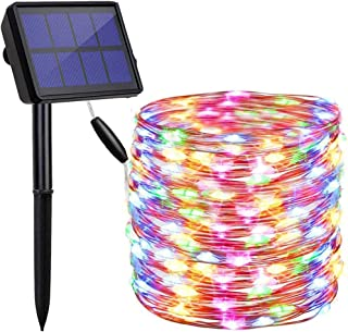 findyouled Solar String Lights, 20m 200 LED Solar Powered Outdoor Lights with 8 Lighting Modes,Waterproof for Home,Garden,...