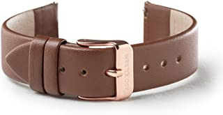 Womens Easy Interchangeable Leather Watch Band - 14, 16, 18, 20 MM