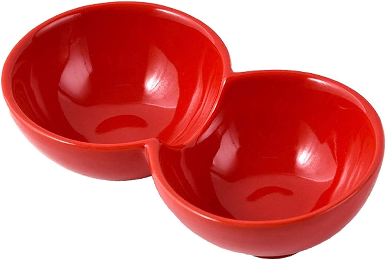 sauce dishes Seasoning Dish Sauce Ceramic Seasonin Grid online shopping Two Super-cheap