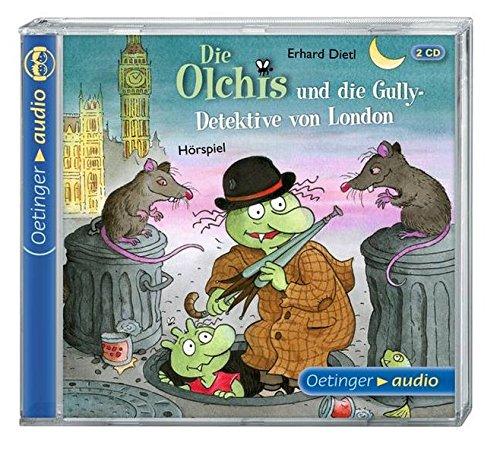 Die Olchis und die Gully-Detektive von London: (2 CD): Hörspiel