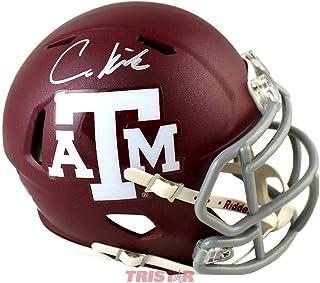 Christian Kirk Autographed Texas A&M Aggies Mini Helmet - Autographed College Mini Helmets