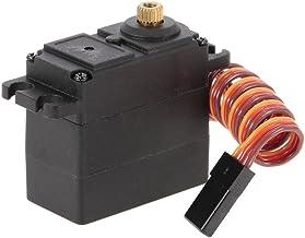 KKmoon Mini 2.8Kg 3 Fio de Metal Gear Steering Servo para FY01 FY02 FY04 FY05 FY06 FY07 SUBOTECH 1/12 Carro RC