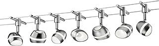 Trio Leuchten 879310207 Shark A++, Poutre Nickel mat 3,5 W intégré, Nickel, Nickel mat, 13.5 x 700 x 14.5 cm, Integriert