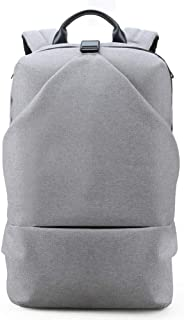 Arder Business Casual Outdoor Leisure Backpack USB Charging Backpack Male College Student Bag Computer Bag Relaxed (Color : Gray)