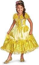 Disney Belle Deluxe Sparkle Toddler/Child Costume ディズニーベルデラックススパークルの幼児/子供の衣装♪ハロウィン♪サイズ:X-Small (3T-4T)