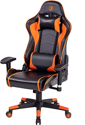 Tremendous Amazon Com Gtracing Gaming Chair With Footrest And Alphanode Cool Chair Designs And Ideas Alphanodeonline