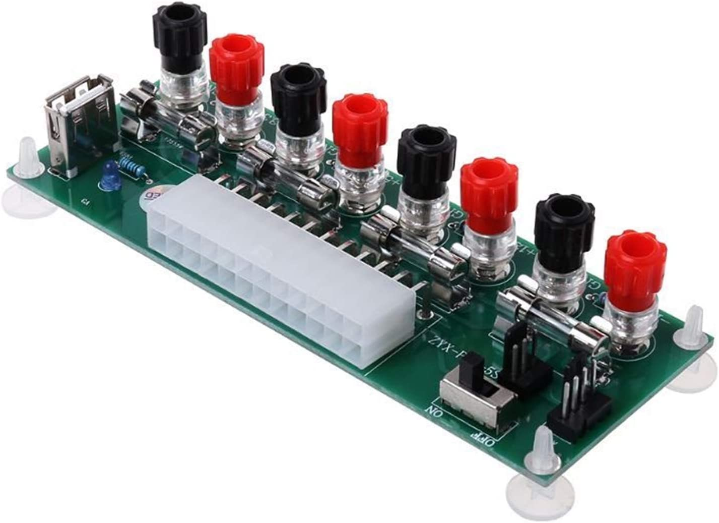 XINGLAI ATX Super intense SALE Benchtop Computer Max 76% OFF Power Electric Circuit Supply 24Pi