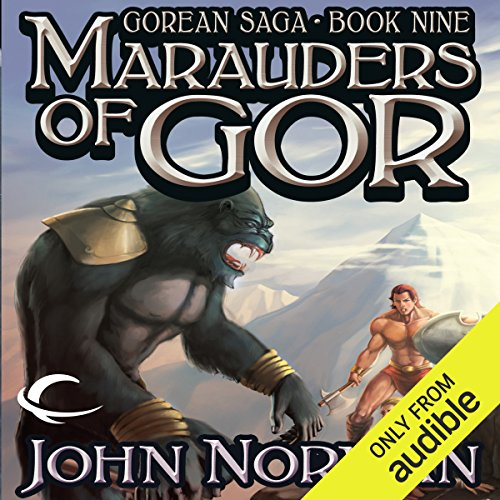Marauders of Gor audiobook cover art