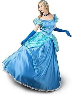 CosFantasy Cinderella Cosplay Dress Layered Costume Ball Gown mp003412
