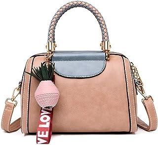 Shoulder Bag Hobos & Shoulder Bags Totes Handbags Simple and Stylish one-Shoulder Slung Pillow Handbag Handbag Clutch (Color : Khaki)