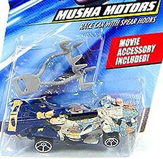 Speed Racer Musha Motors Race 1:64 Scale Car w/ Spear Hooks Hot Wheels