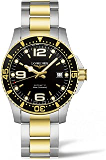 Longines Hydroconquest Automatic Black Dial Mens Watch L37423567