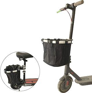 XULONG Scooter eléctrico para Adultos, cestas, Impermeables y de Almacenamiento, Cierre de Bolsa, 26x24x34 cm, Adecuado para Scooters eléctricos, Bicicletas, Bicicletas Plegables