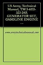 US Army, Technical Manual, TM 5-6115-323-24P, GENERATOR SET, GASOLINE ENGINE DRIVEN, SKID MOUNTED, TUBULAR FRAME, 1.5 K SINGLE PHASE, AC, 120/240 V, 28