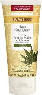 Burt's Bees Hemp Hand Cream with Hemp Seed Oil for Dry Skin, 70 ml