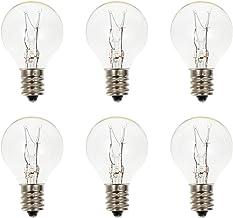 OSALADI 6Pcs E12 Wax Warmer Bulb Wax Melt Light Bulb Fragrance Light Bulb Electric Oil Warmer Bulb Replacement for Scentsy...