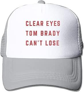 Adjustable Baseball Cap Clear Eyes Brady Can't Lose Cool Snapback Hats