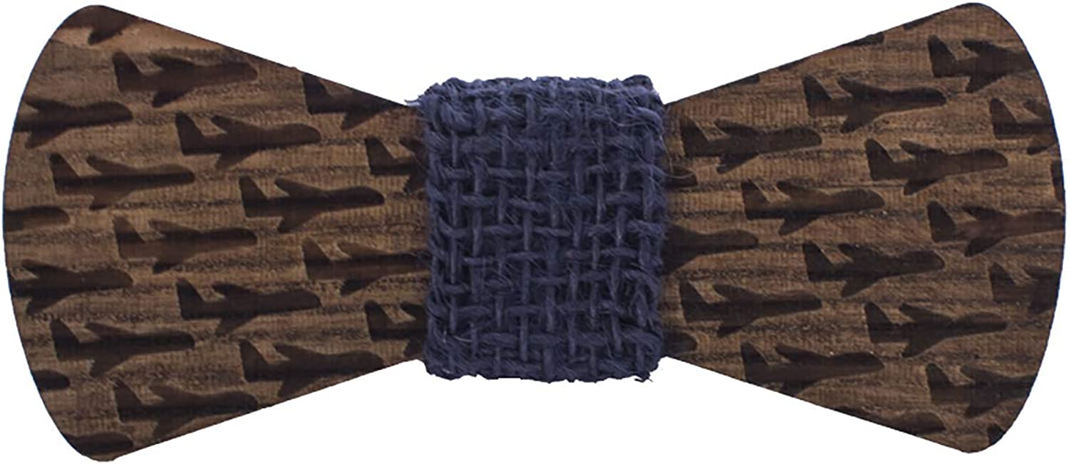Wooden Bow Tie for Kids, Boys, Girls, Toddlers, Teens, Schoolers, by Bow Tie House