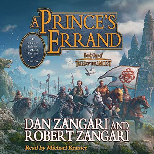 A Prince's Errand Audiobook By Dan Zangari, Robert Zangari cover art