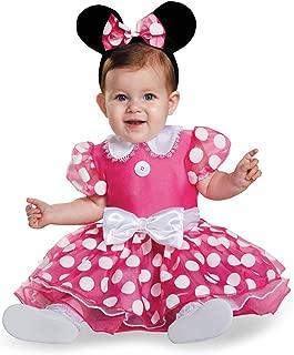 Disney Disguise Baby Girls' Pink Minnie Prestige Infant Costume, Pink, 12-18 Months