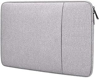 FOOKANN Shockproof Laptop Sleeve Case 15.6-inch, Waterproof Laptop Bag for Macbook (Grey)