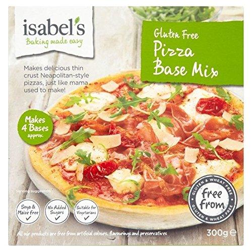 Isabels Gluten Pizza Gratuite Mélange De Base De 300G De Paquet de 6