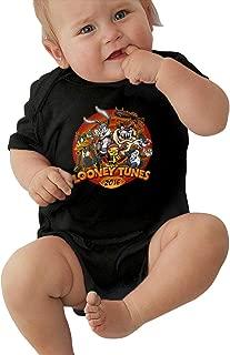 LUCY FOSTER Looney Tunes Unisex Funny Boys & Girls Romper Baby GirlBodysuit 40 Black