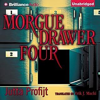 Morgue Drawer Four audiobook cover art