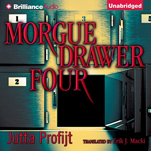 Morgue Drawer Four audiobook cover art