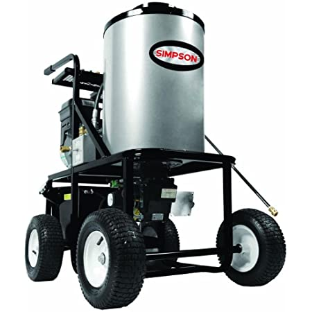 SIMPSON Cleaning KB3028 King Brute 12 Volt Burner System Hot Water Pressure Washe, 3000 PSI at 2.8 GPM