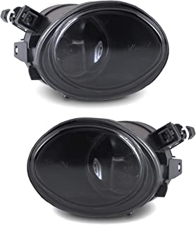 AUTOWIKI Fog Lights Assembly for 2001-2006 BMW 3 Series E46 M3/ 00-03 BMW 5 Series E39 M5 With Smoke Lens 2PCS