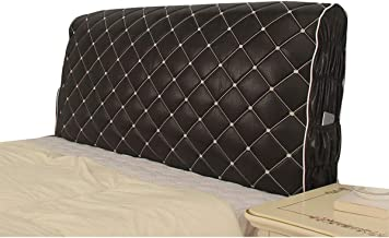Bed Headboard Cover Dustproof Stretch Bed Head Protector Cover Headboard Slipcover All-Inclusive Dustproof Backrest Slip (...