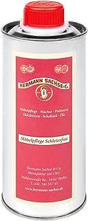 Hermann Sachse Möbelpolitur 250ml Möbelpflege Schleierfrei Möbelpflegeöl besonders für Antikmöbel zur Reinigung, Auffrischung und Pflege entfernt Wasserflecken retuschiert leichte Kratzer