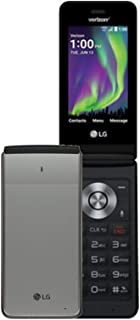 LG - Exalt 4G LTE VN220 with 8GB Memory Cell Phone - Silver (Verizon)