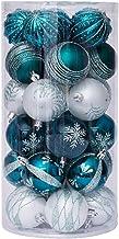 """60mm/2,36"""" kerstballen, onbreekbaar hangende kerstballen kerstballen ornamenten kerstboom hangers decoratieve hangende ker..."""