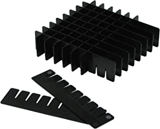 bleu camlab plastique RTP//7110 96bc 96/bien Racks r/éversible en polypropyl/ène