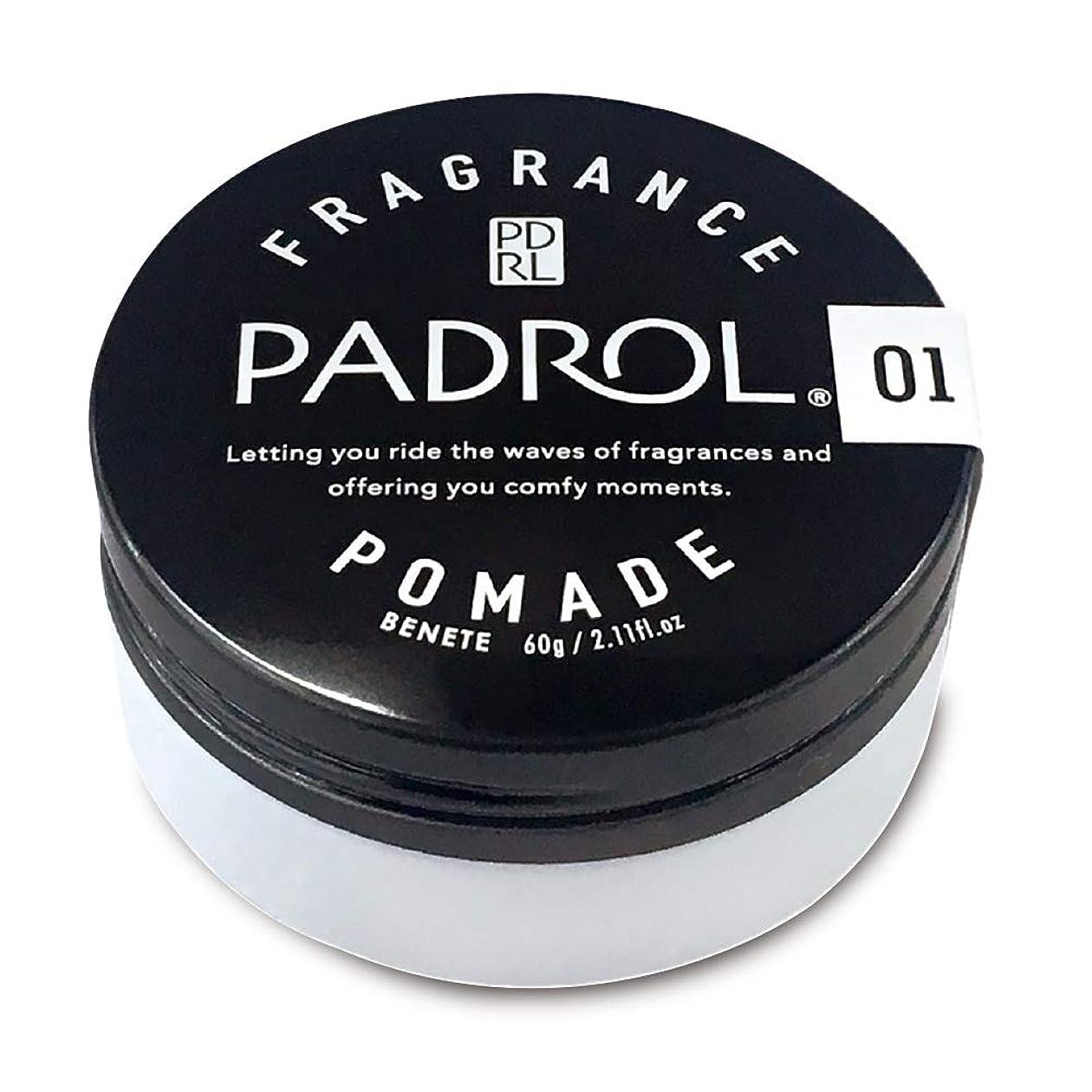 散髪一定ワンダーPADROL FRAGRANCE POMADE ノルコーポレーション PAD1001