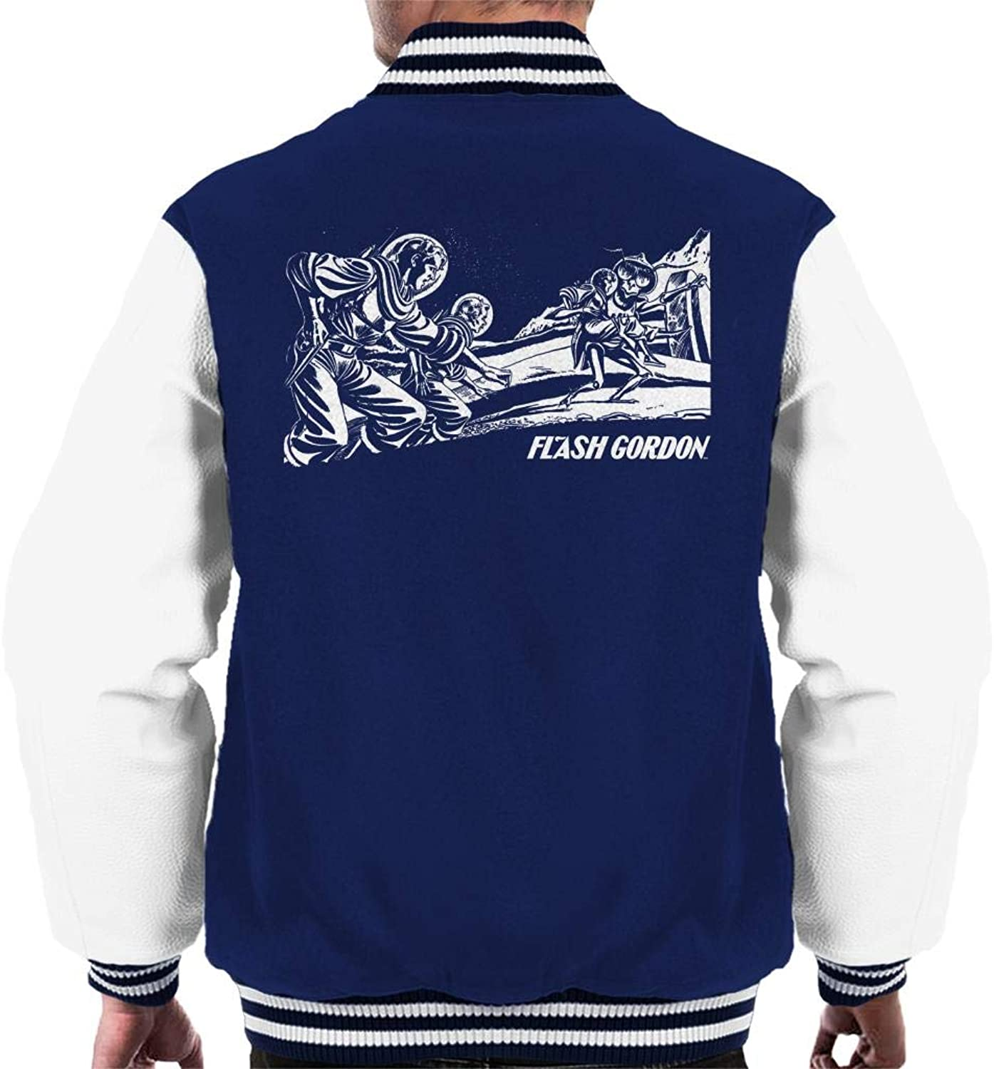 Comics Kingdom Flash Gordon Space Rescue Men's Varsity Jacket