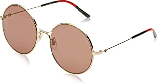 GG0395S Sophisticated 80's Oversize Round Metal...