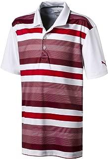 PUMA Golf Boy's 2018 Turf Stripe Polo
