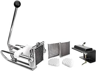Lacor- 60343 - Corta Patatas Chip 3 Cortadores Inox